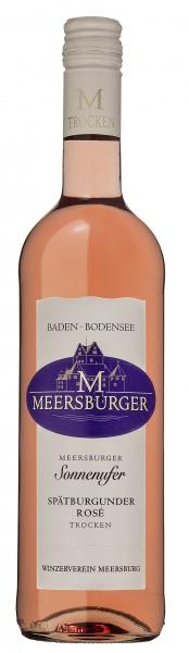 2017 Meersburger Sonnenufer Spätburgunder Rosé Qualitätswein trocken