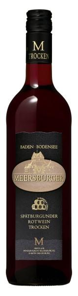2016 Meersburger Spätburgunder Rotwein im Barrique gereift Qualitätswein trocken