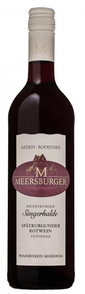 2016 Meersburger Sängerhalde Spätburgunder Rotwein Qualitätswein feinherb