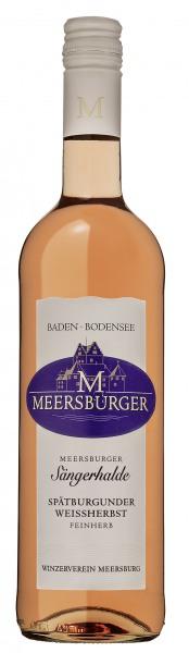 2017 Meersburger Sängerhalde Spätburgunder Weißherbst Qualitätswein feinherb