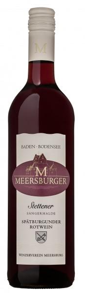 2018 Stettener Sängerhalde Spätburgunder Rotwein Qualitätswein feinfruchtig