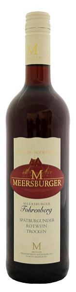 2016 Meersburger Fohrenberg Spätburgunder Rotwein Qualitätswein trocken