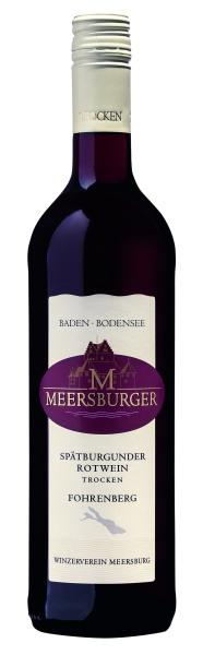 2018 Meersburger Fohrenberg Spätburgunder Rotwein Qualitätswein trocken