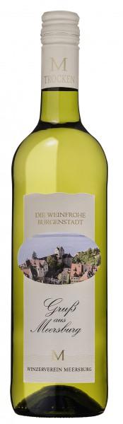 2016 Gruß aus Meersburg Meersbugrer Sonnenufer Qualitätswein,trocken