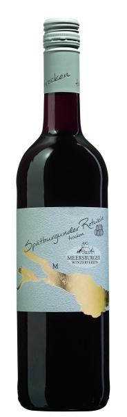 2018 Meersburger Spätburgunder Rotwein im Barrique gereift Qualitätswein trocken