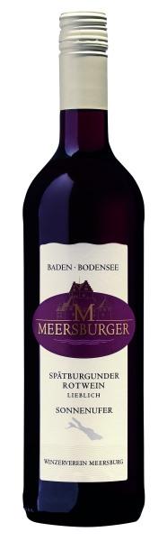 2017 Meersburger Spätburgunder Rotwein Qualitätswein lieblich