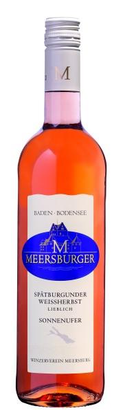2017 Meersburger Sonnenufer Spätburgunder Weißherbst Qualitätswein lieblich