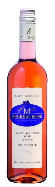2018 Meersburger Sonnenufer Spätburgunder Rosé Qualitätswein trocken