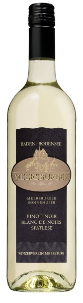 2015 Meersburger Sonnenufer Pinot Noir Blanc de Noir, Spätlese