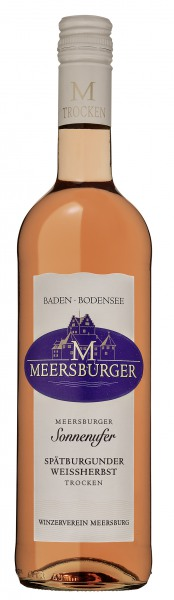 2016 Meersburger Sonnenufer Spätburgunder Weißherbst Qualitätswein trocken