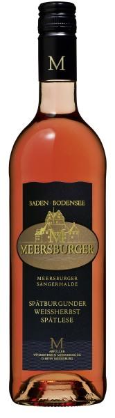 2017 Meersburger Sonnnufer Spätburgunder Weissherbst Prädikatswein- Spätlese lieblich
