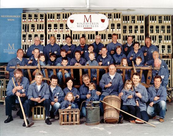 Gruppenbild Winzerverein Meersburg